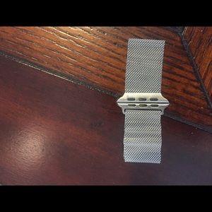 Jewelry - Apple watch silver band
